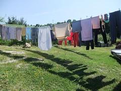 profumo di pulito (giòvanna) Tags: campagna bucato pannistesi ariafresca