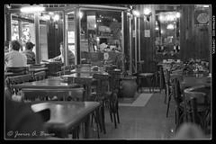 Cafetera/Snack-bar/ (Voroshin - ) Tags: blackandwhite bw byn blancoynegro film bar buenos aires bn biancoenero analogica snackbar caffenol eastman5222 cafenol argentica   argntica voroshin javierbence