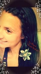 A #special #guest #today! Daniela is #wearing a #hana #kanzashi in her #hairs. Oggi abbiamo un #ospite #speciale!  Daniela #indossa un kanzashi #floreale tra i suoi #capelli. Fioridoriente #handmade #flowers #fiori #fleur #flores #fleurentissu #fabric #fi (fioridoriente) Tags: flowers wedding flores me fleur wearing look japan happy handmade moda special fabric gift hana guest fiori mariage jewels today ideas giappone regalo idee imadeit hairs speciale cadeau capelli fashionable kanzashi ospite iwantit floreale lovoglio indossa fleurentissu