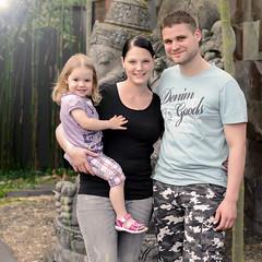 Jenny, Thomas und Mia