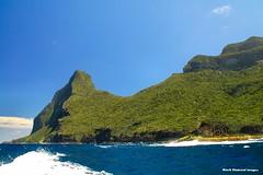 Back of Mt Gower & Mt Lidgbird - Lord Howe Island Circumnavigation (Black Diamond Images) Tags: mountains island boat paradise australia cliffs nsw boattrip circumnavigation lordhoweisland worldheritagearea mtgower mtlidgbird thelastparadise circleislandboattour