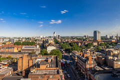 View from my office in Waterloo (stephanrudolph) Tags: city uk england london nikon europa europe cityscape wideangle gb handheld d700 1424mm 1424mmf28g