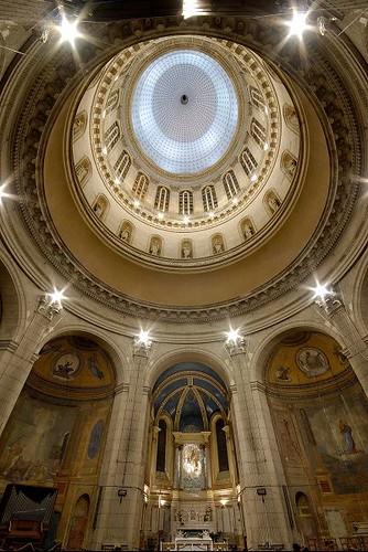Dôme basilique Notre Dame, Boulogne-sur-Mer