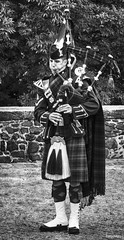 Practice (Photography from the soul) Tags: portrait blackandwhite scotland stirling final website piper armedforcesday