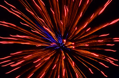 Trippy Fireworks (hpaich) Tags: color night dark festive newjersey fireworks explosion nj patriotic celebration aberdeen festivity patriotism celebrate