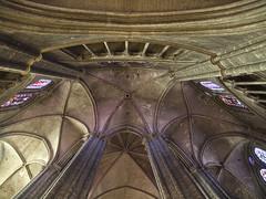 Bourges - St. Etienne (dolorix) Tags: france architecture bourges frankreich cathedral gothic kathedrale architektur stetienne unescoworldheritage gotik vaults gewlbe unescoweltkulturerbe dolorix