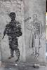 Tbilisi street stencils: HVITT armed (10b travelling) Tags: streetart art georgia soldier graffiti stencil asia europe weapon walkabout caucasus tbilisi sovietunion ussr eurasia sakartvelo kaukasus strassenkunst artdelarue 2013 rustaveli carstentenbrink cmtbstreetart