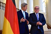 Secretary Kerry Approaches Reporters With German Foreign Minister Steinmeier Amid Iranian Nuclear Talks in Vienna (U.S. Department of State) Tags: vienna germany austria iran nuclear johnkerry p51 steinmeier
