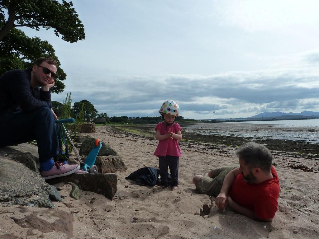 On Fairlie beach