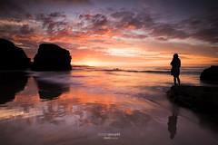 Playa de las Catedrales (Simon Pouyet) Tags: road trip las sunset de spain nikon playa des lee filters grad espagne plage 1635 ribadeo espanya d600 cathdrales gnd catredales rawvergnat