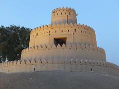 Fort Al Jahili, Al Ain (twiga_swala) Tags: castle museum architecture al desert mud fort dusk united uae palace emirates zayed abudhabi arab vernacular alain fortifications abu dhabi sheikh qasr ain qaser jahili لعين