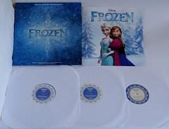 Disney Frozen Soundtrack Deluxe Vinyl Record Album - 12 Inch - LE3000 - Contents (drj1828) Tags: frozen album deluxe vinyl record purchase limitededition contents soundtrack booket le3000