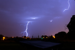 [tks 1k views] Orage et clairs  - heat storm and lightings 19/07/2014 (danon7vz) Tags: cloud storm weather nikon belgium lightning nuage eclair orage d7100 ollignies