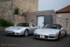 10 Years Apart (MJParker1804) Tags: new old 2002 honda silver japanese 1992 rare nsx v6 facelift vtec