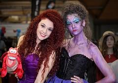 The Little Mermaid (l plater) Tags: ariel cosplay australia disney sydneyolympicpark thelittlemermaid ursulatheseawitch lplater canon5dmkii supanovapopcultureexpo canonef70300mmf456lisusm photoshopcs6