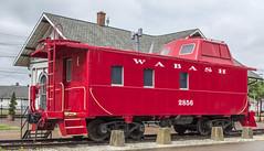 Wabash (will139) Tags: trains caboose railroads ruralindiana princetonindiana in64