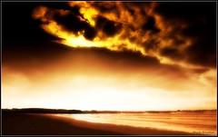 LE DOSSEN (Photo.Emotion) Tags: ocean new blue autumn winter light sunset sea summer sky sun mer france color beach nature water rock clouds canon landscape island photography soleil photo europe day bretagne shore vagues lon finistere