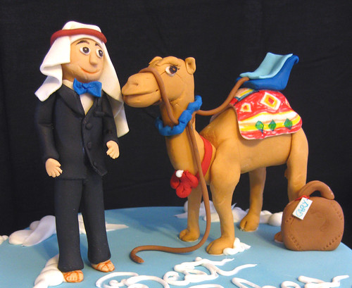 Arabian Spoof send-off Cake
