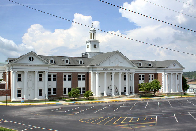 Roane County Courthouse (V.2) - Kingston, TN
