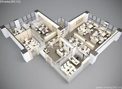 Thiết kế nội thất Văn Phòng công ty VJEC_01