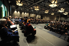 2014 Summer Commence (GeorgiaGwinnettCollege) Tags: summer audience stage august indoors inside commencement scholarship graduates deans overtheshoulder 2014 gwinnettarena facingtheaudience august52014 facingthegraduates