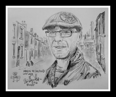 made in salford by broady 2014. (Broady - salford artist and photographer) Tags: life people urban art pencil manchester sketch artwork drawing salford broady salfordportraits