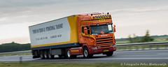 Scania R164 580 (Peter Winterswijk) Tags: tractor holland industry netherlands car truck rotterdam europe transport meeting international camion vehicle v8 trucking tracteur scania lkw onderweg haulage truckshow topline lesroutiers roadtransport szm alltypesoftransport sattelzugmaschine nikond800e peterwinterswijk