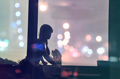 she (sara.noor) Tags: windows nature girl sparkles photography lights iran simple strret