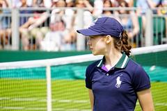 The Wimbledon Tennis Championship 2014. Ball girl (Sacha Alleyne) Tags: grass ball tennis tournament racket grandslam lta ballgirl grasscourt court12 lawntennisassociation wimbledon2014