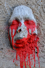 Faces of Paris #2 (Pat Charles) Tags: portrait sculpture paris france art face nikon europe visage gregos