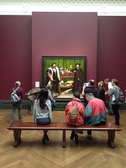 in the company of The Ambassadors (looper23) Tags: uk england london art gallery august national ambassadors 2014