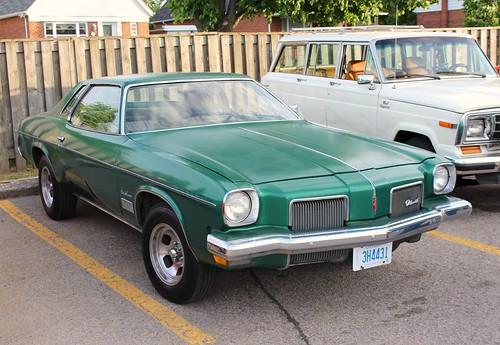 1973 Olds Cutlass 442
