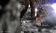 Let's go, Groot! (Toy Photography Addict) Tags: toys actionfigures marvellegends marvel diorama hasbro groot toyphotography guardiansofthegalaxy rocketraccoon toydiorama clarkent78 toyphotographyaddict marvellegendsinfinity