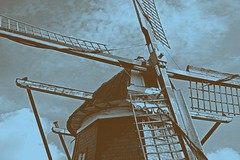 build in 1748 ()'(stefanie) Tags: windmill germany windmuehle 1774