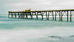 Catherine Hill Bay Jetty 1 (loobyloo55) Tags: longexposure sea seascape water jetty australia centralcoastnsw