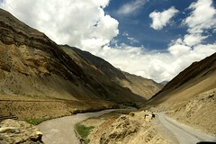 Spiti Valley (pranav_seth) Tags: road india mountains clouds river valley himachal spiti himachalpradesh spitiriver