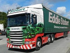 PK11PFU H6326 Eddie Stobart Scania 'Glenda' (graham19492000) Tags: eddie scania glenda widnes stobart eddiestobart foundrylane pk11pfu h6326