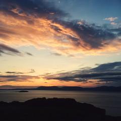 Sunrise (Electra_star) Tags: sunrise scotland isleofskye loch iphone5s