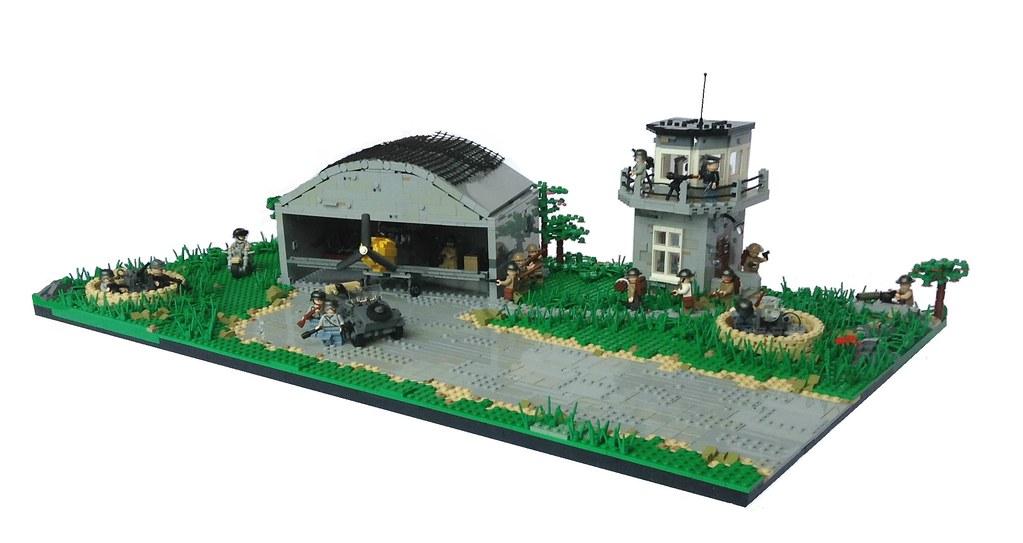 lego airport battle instructions