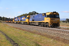 2014-06-11_1154-38-020 NR48 9313 and 9311 on 4WP2 at Marinna (gunzel412) Tags: geotagged australia newsouthwales aus junee geo:lat=3485062000 geo:lon=14762313667