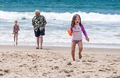 At the beach (Snap Man) Tags: california beach onthebeach unitedstates socal southerncalifornia southbay hermosabeach losangelescounty byrobin kentkanouse kaitlinkanouse nikond90 lillykanouse