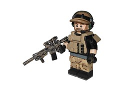 Battlefield 3 U.S. Engineer (-Yoshifan151-) Tags: dice digital beard major paint lego fuck arts camo gaming tiny figure op tt battlefield illusions custom electronic nerf ea engineer operator league ce tactical bf3 mlg mk18 cqbr opr9r opr8r