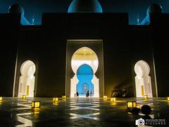 IMG_0080 (MagnumOpusPictures) Tags: beautiful architecture night canon photography united uae ad entrance grand mosque symmetry arabic emirates zayed arab symmetrical abu dhabi emirate sheikh auh emirati
