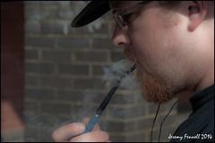 Pipe Smoker (zolaczakl (1.5 million views, thanks everyone)) Tags: bristol smoke august 2014 pipesmoker welshback nikond90 photographybyjeremyfennell bristolinsummer