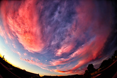 Fisheye Sunset (gbrummett) Tags: sunset colors canon wow lens amazing cool earth fisheye stunning planet 15mm 406 img6294 grantbrummett