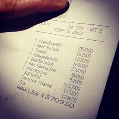 Thank goodness this isn't in dollars... can you imagine paying $230,000 for beef brisket?