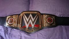 (imranbecks) Tags: world county orange logo championship belt big replica network title heavyweight occ wwe commemorative choppers 2014