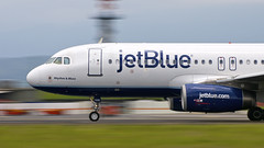 N595JB (wittowio) Tags: airbus jetblue spotting airliner mroc