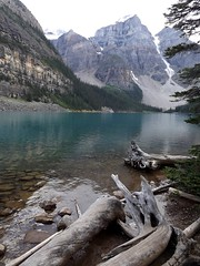 Moraine Lake (h willome) Tags: lake canada alberta banffnationalpark morainelake 2014