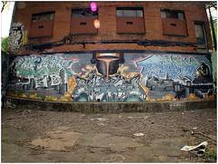 Mural, Melwood Avenue: 04.25.03 (macwagen) Tags: graffiti oakland pittsburgh pennsylvania pa avenue melwood